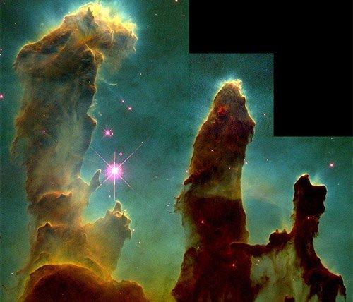 Creation Телескоп WISE обнаружил «столпы творения»