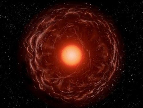 Envelope Астрофизики исследовали ядро красного гиганта