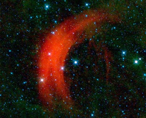 arc Телескоп WISE обнаружил «убегающую» звезду