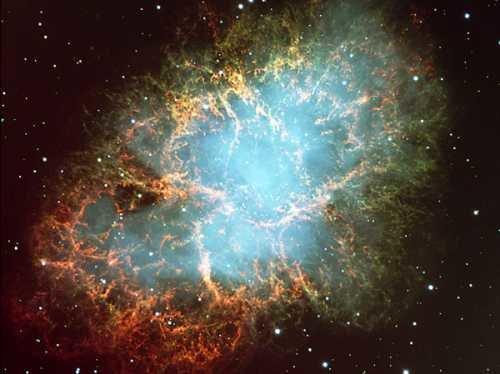 crab_vlt1 Космические лучи озадачили астрономов