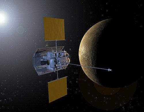 messenger_merc Впервые у Меркурия появится искусственный спутник