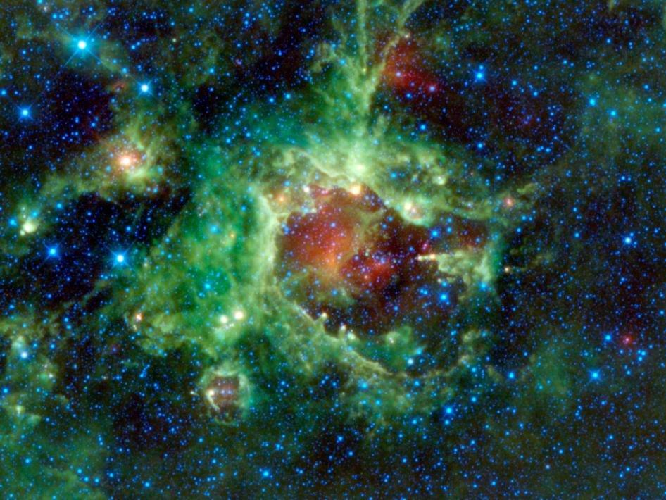 13 Данные с телескопа WISE частично раскрыли