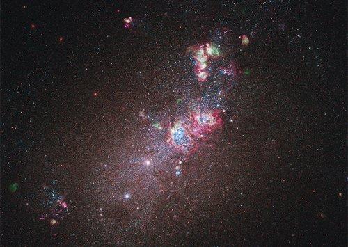 NGC Сфотографирована природная лаборатория по изучению эволюции звёзд