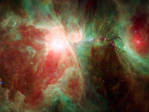 Orion В протозвезде обнаружены кристаллы оливина