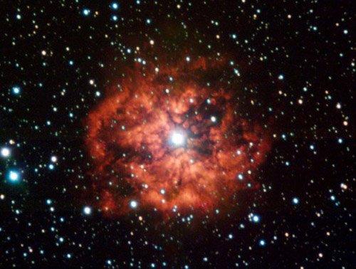 Wolf_Rayet-580x495 Астрономы удивились изменчивости звезды Вольфа — Райе