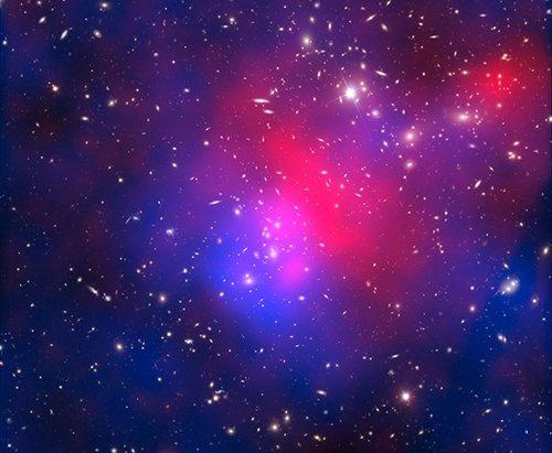 abstractd Ученые реконструировали масштабное объединение скоплений галактик