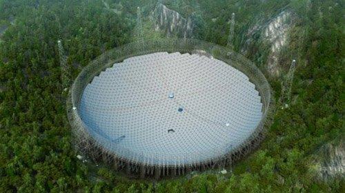 fast1 В Китае строится крупнейший в мире радиотелескоп FAST