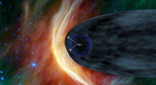 pia13892-640 Возможно, на окраине Солнечной системы имеются многочисленные магнитные «пузыри»