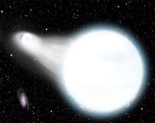 Accretion Астрономы обнаружили очень тесную систему белых карликов