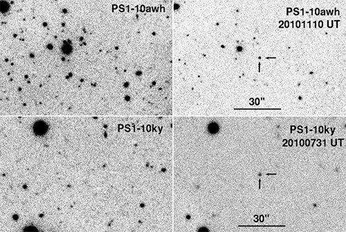 Appearance Астрономы обнаружили две необычайно яркие сверхновые