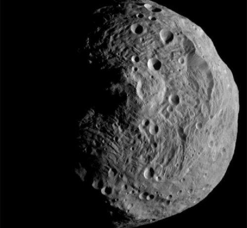 Vesta С орбиты астероида 4 Веста получен первый снимок