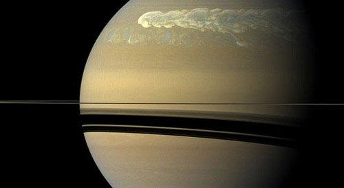 tempestfromh «Кассини» зафиксировал сильнейшую бурю на Сатурне