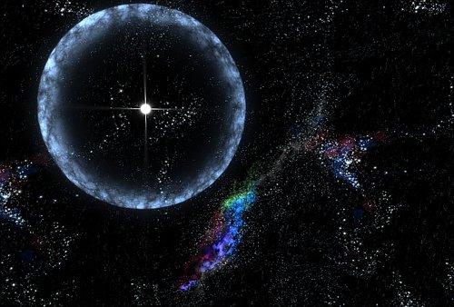 108530main_cloudballPrint Взрыв газовых облаков ранней Вселенной был сильнее сверхновых