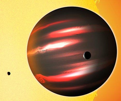 Black «Кеплер» зарегистрировал видимое излучение самой темной экзопланеты