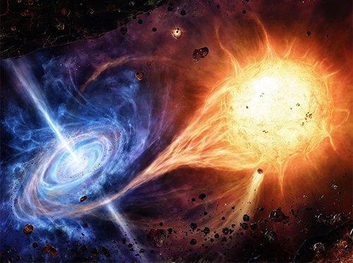 Oblivion Для обнаружения дополнительных пространственных измерений можно использовать двойные системы