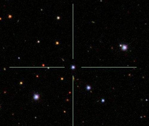 SDSS На орбите близлежащей звезды произошло столкновение?