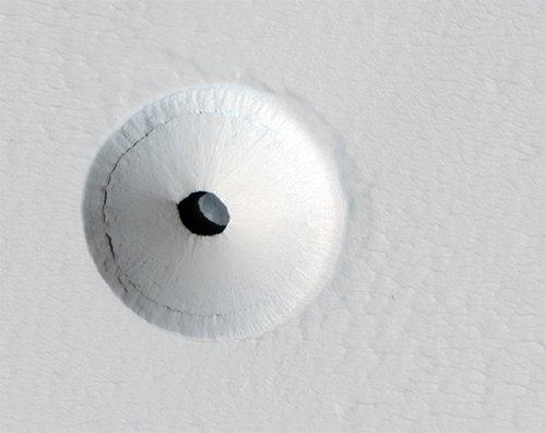 Tube Обнаружен вход в марсианскую лавовую трубку