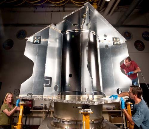 591794main_MAVENStructure9-08-11 НАСА сооружает новый марсианский зонд