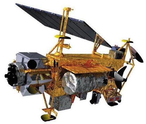 702px-UARS_1 Крупный спутник НАСА упал в неизвестном месте