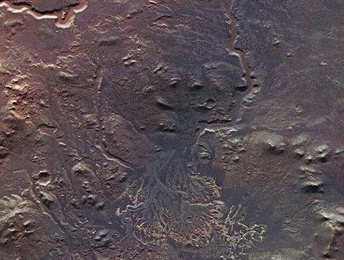 deltafm Зонд Mars Express передал снимок дельты древней марсианской реки