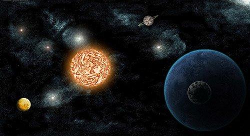 1 Предложена принципиально новая модель формирования планет в Солнечной системе