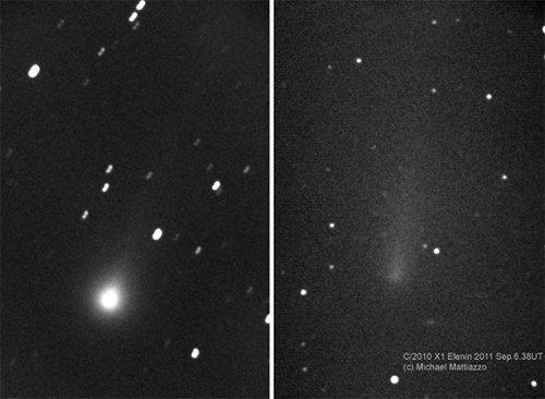 Elenin Комета Еленина (C/2010 X1) разрушилась