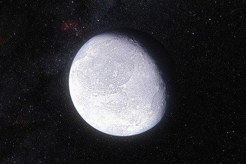 eso1142a Удалось установить размеры карликовой планеты Эрида