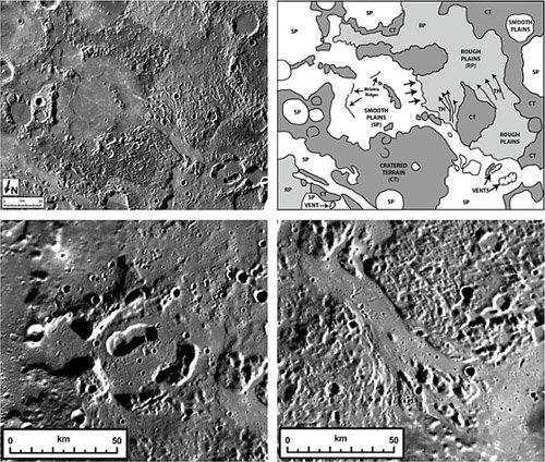 mercuryvolcanism Зонд MESSENGER раскрывает тайны Меркурия