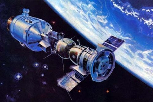 764217 Китайский космический корабль успешно слетал к станции «Тяньгун-1»