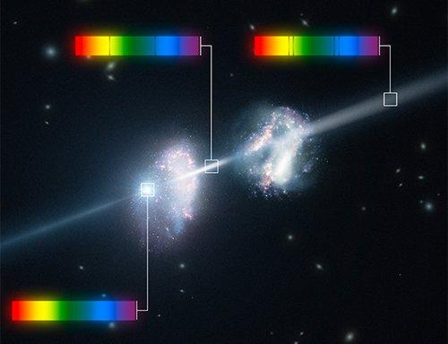 GRB Обнаружены две галактики с очень высоким содержанием металлов