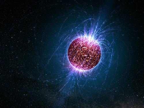 NeutronArtwork Оказывается, нейтронные звезды представляют собой постоянный магнит