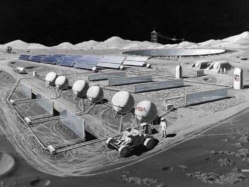 radioastronomy10a На Луне будет построена космическая АЗС