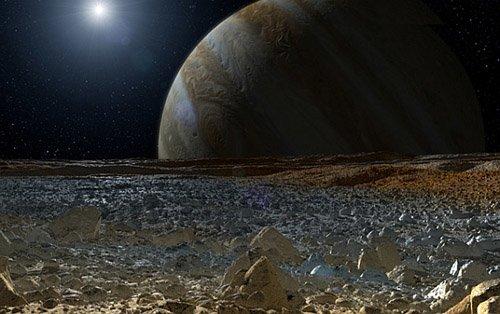 sneuropa Под поверхностью Европы могут быть большие озера
