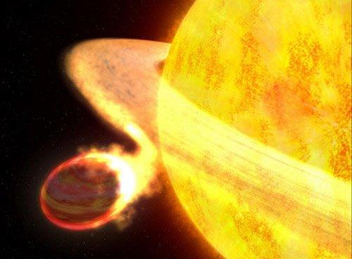 45667 Звезды крайне редко «пожирают» планеты