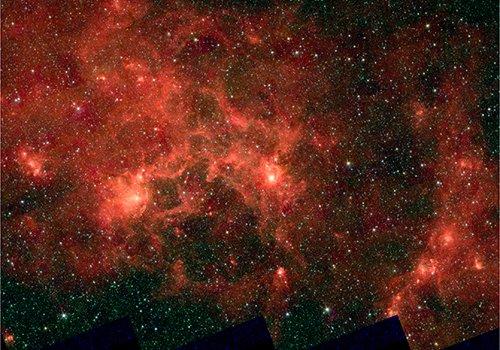 Dragonfish  В нашей галактике открыта чрезвычайно крупная ассоциация массивных звезд