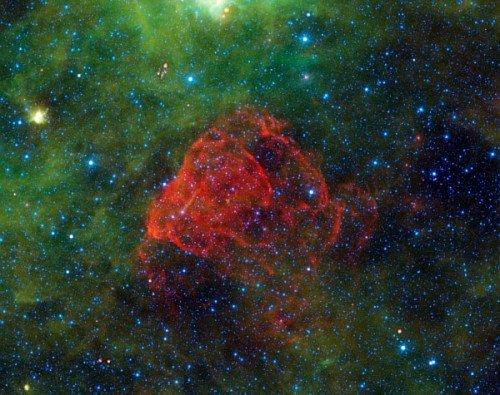 PIA14884-500x395 Опубликованы снимки остатков сверхновой Puppis A