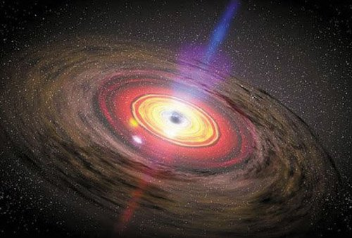 black_hole Обнаружены две сверхтяжелые черные дыры