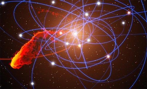 orbitw Обнаружено газовое облако, которое направляется к Стрельцу A*