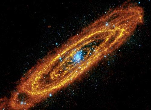 sn-starburst Астрофизики нашли доказательства столкновения галактики Андромеды