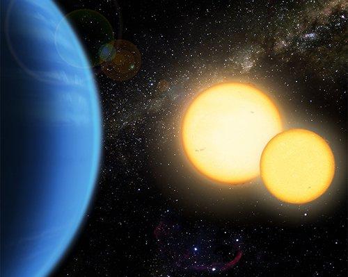 Binary Открыты две экзопланеты в двойной звездной системе
