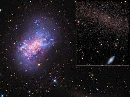 picture Астрономы впервые зарегистрировали столкновение карликов