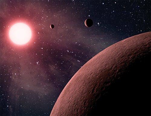 sunrc Обнаружено трио самых маленьких экзопланет