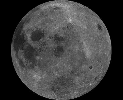 PIA00303 Лунный кратер Джордано Бруно оказался намного старше, чем считалось ранее