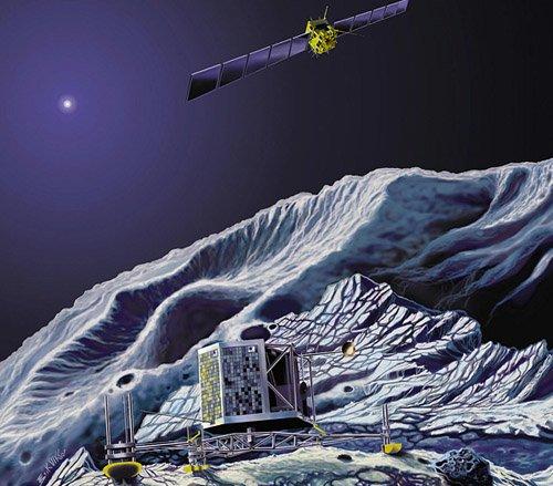 rosetta2_600 «Розетта» собирается оседлать комету
