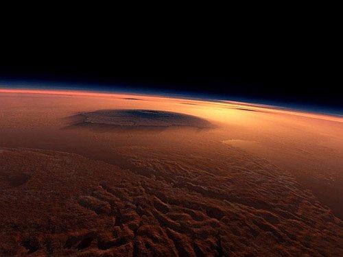 Mars_nasa Земная жизнь могла зародиться... на Марсе