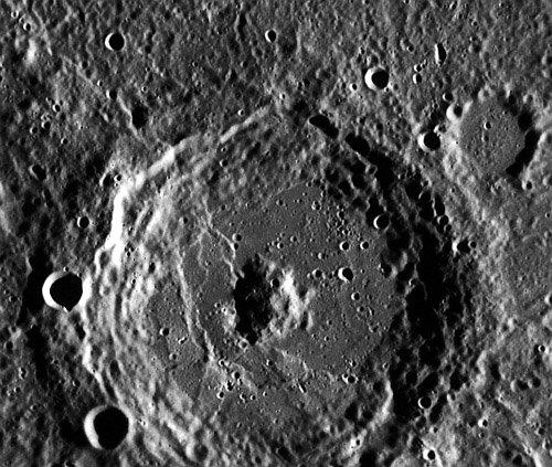 EN0220803786M_Donne.map_ MESSENGER передал снимки типичного меркурианского кратера
