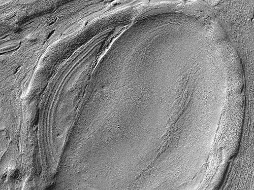 ESP_025780_1415 Получен очень четкий снимок дна марсианского озера