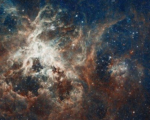tarantulaneb НАСА обнародовало самое детальное изображение огромной туманности Тарантул