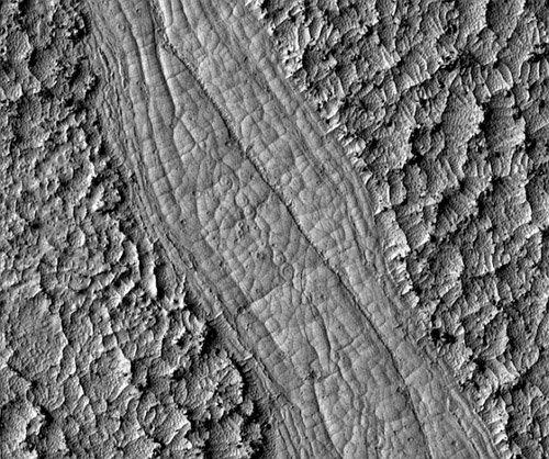 lavacoils2 На Марсе обнаружены спирали непонятного происхождения