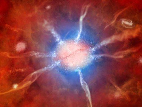 2-1 Астрономы озадачены рекордной скоростью звездообразования в галактическом скоплении Феникс